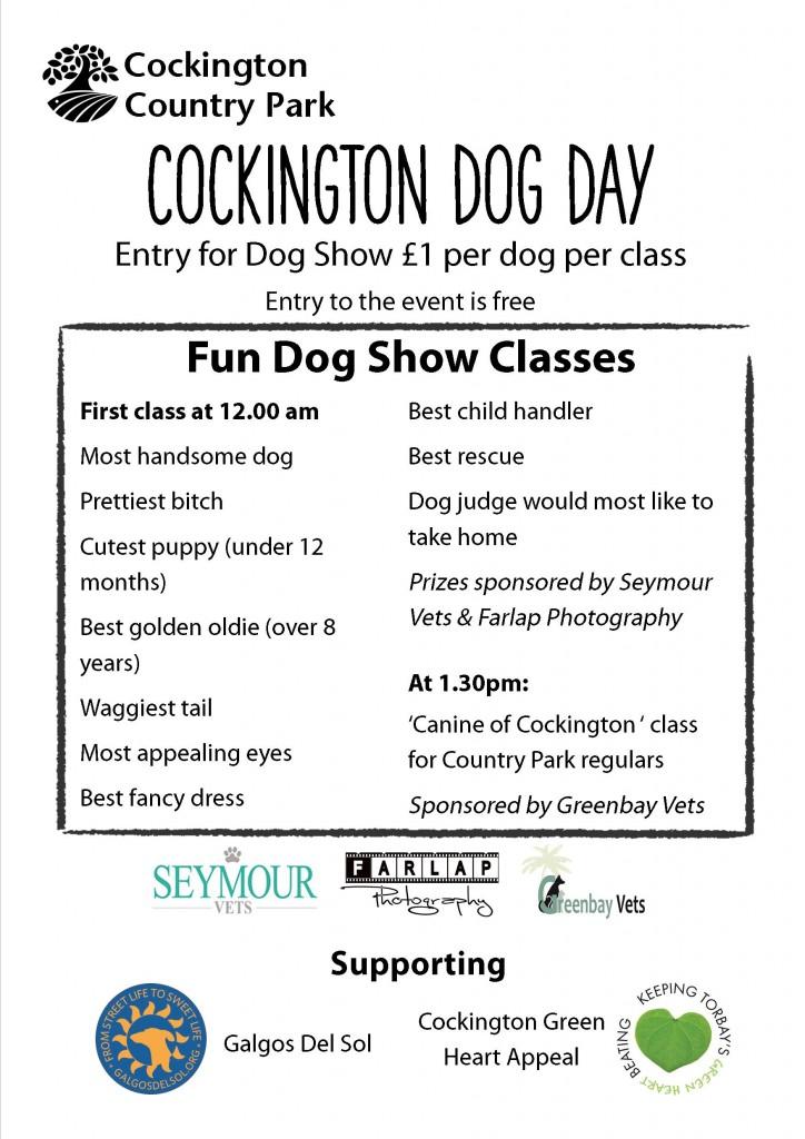 Dog Day Flyer 2017